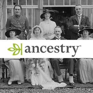 Ancestry is available only within the Library